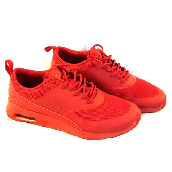 dd8f72027f All Red Air Max Thea Sneakers! M_5b773aa83c98440fdf1776da